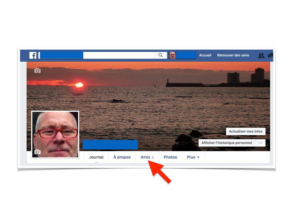 Facebook Cacher la liste de mes amis.002
